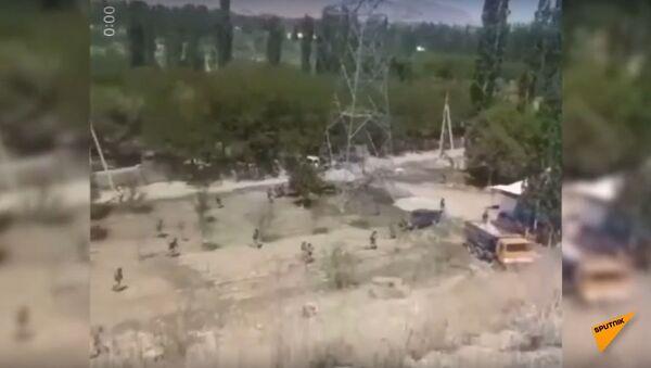 Shootout at Kyrgyz-Tajik Border - Sputnik International