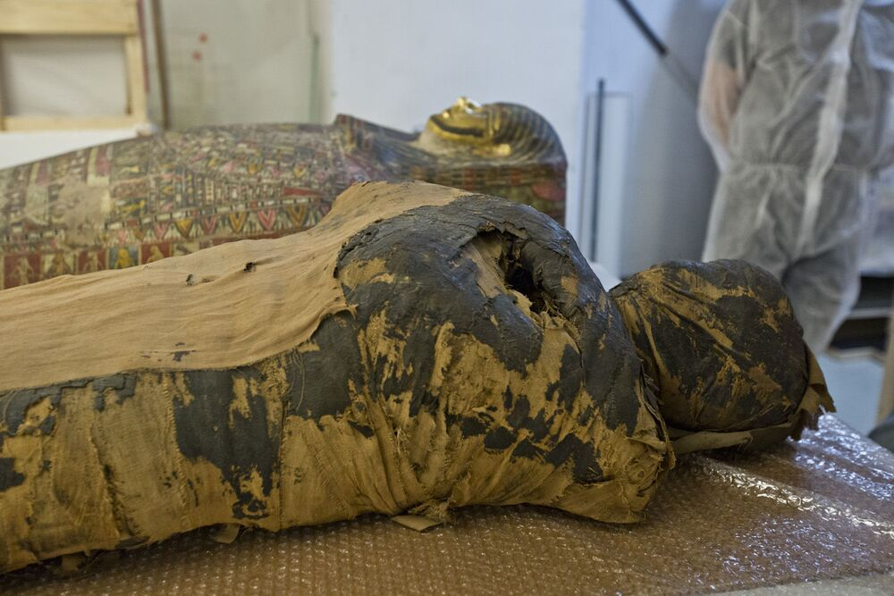 This is the first-known pregnant mummy ever discovered