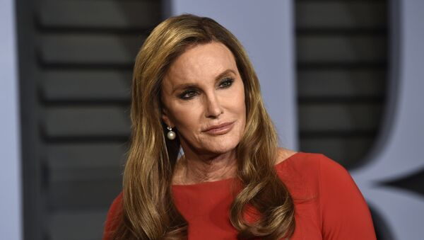 In this Sunday, March 4, 2018 file photo, Caitlyn Jenner arrives at the Vanity Fair Oscar Party on, in Beverly Hills, Calif. - Sputnik International