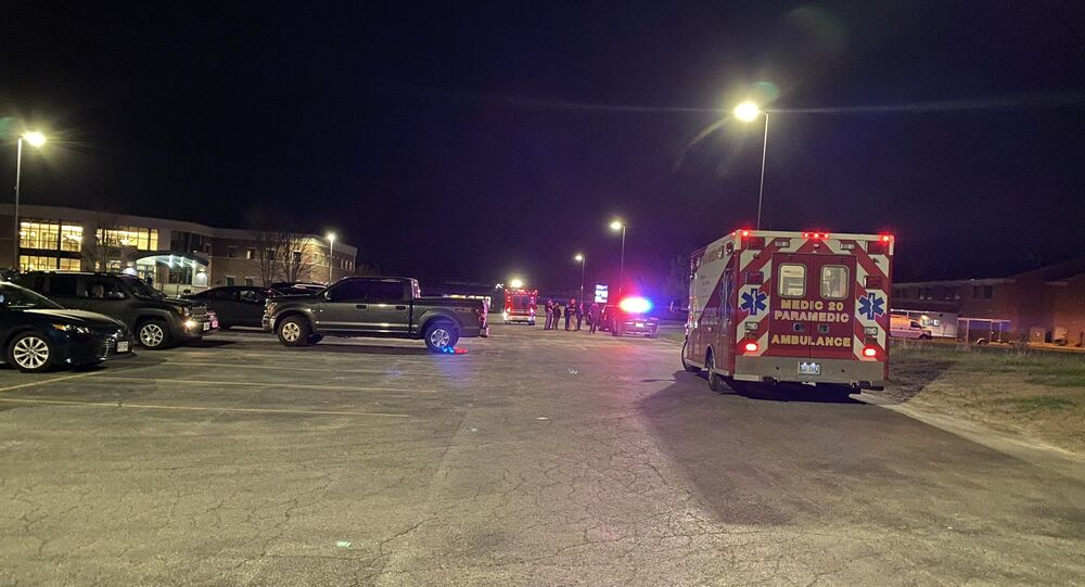 Shooting took place at the Oneida Casino in Green Bay, Wisconsin, on May 1, 2021.