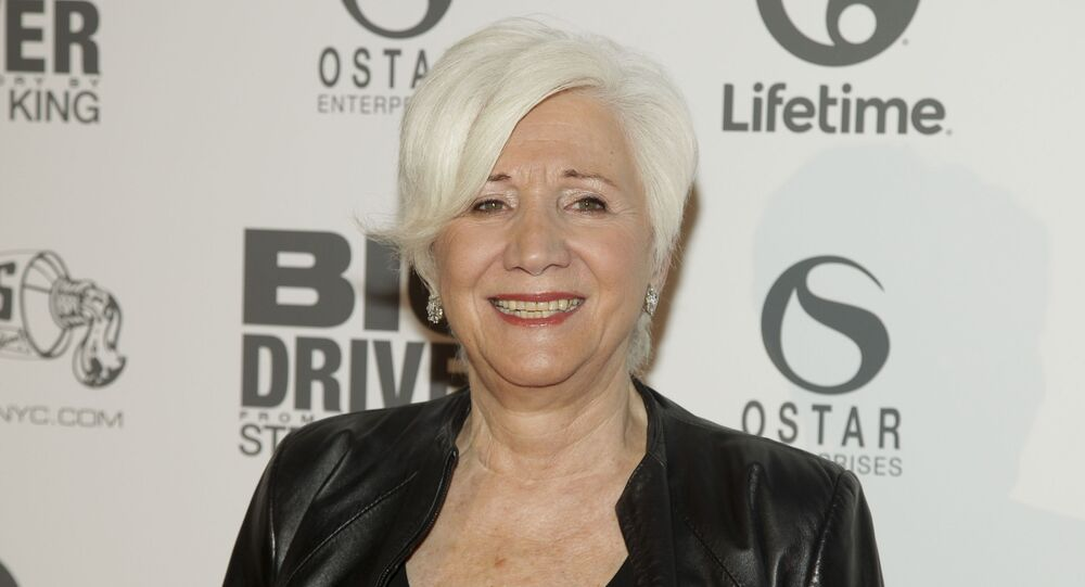 Olympia Dukakis attends a screening of Lifetime's Big Driver on Wednesday, Oct. 15, 2014, In New York.