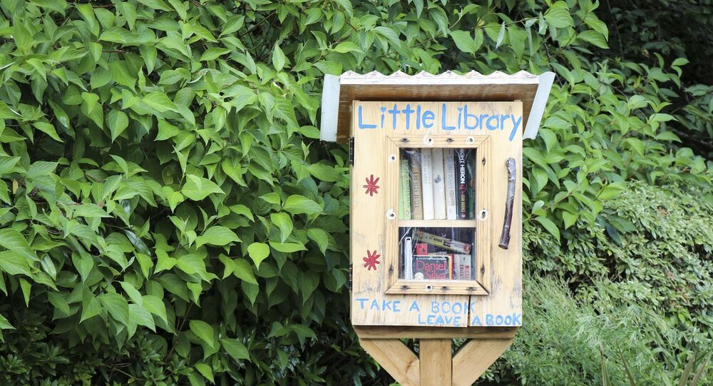 a library box