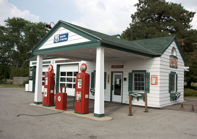 One of the longest-operating gas stations on the whole Route 66.