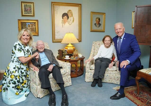 The Bidens and the Carters