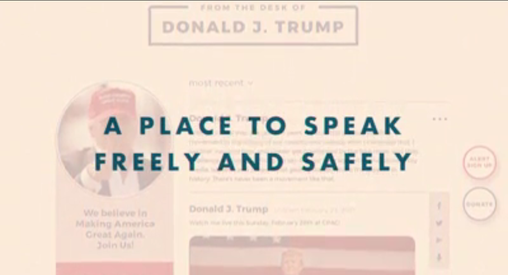 Donald Trump launches new communication site for fans after Twitter ban