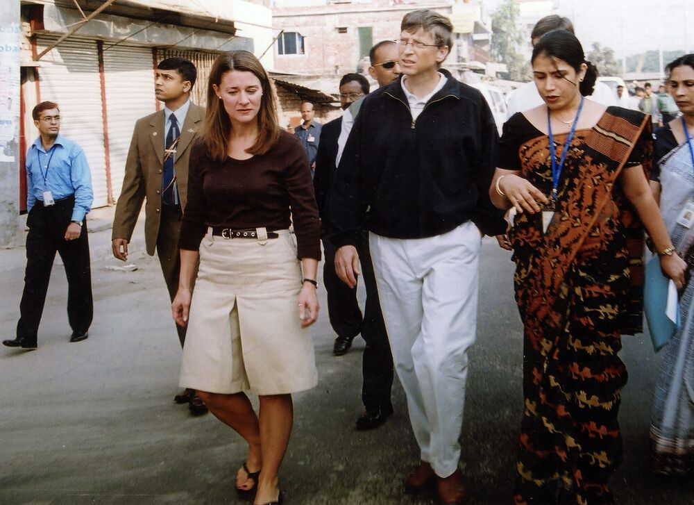 While They Were Still Together: Bill and Melinda Gates' Most Iconic Photos