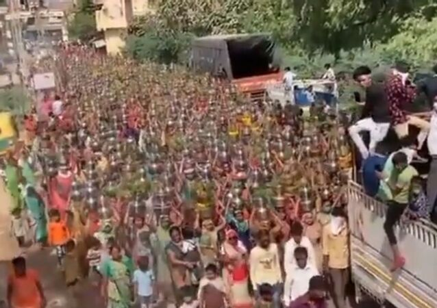 Hundreds of Devotees at Indian Temple Attract Fury as COVID-19 Rages in Country