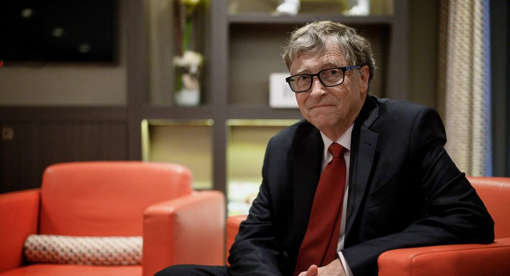 US Microsoft founder, Co-Chairman of the Bill & Melinda Gates Foundation, Bill Gates, poses for a picture on October 9, 2019, in Lyon, central eastern France, during the funding conference of Global Fund to Fight AIDS, Tuberculosis and Malaria.
