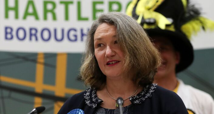 Jill Mortimer, the victorious Conservative candidate in Hartlepool