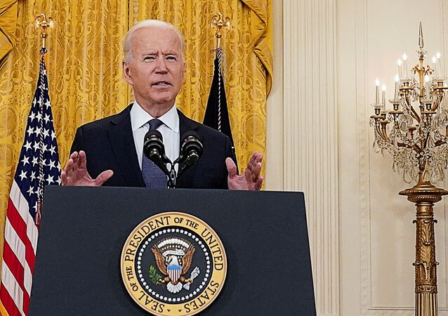 U.S. President Joe Biden delivers remarks on the U.S. economy in the East Room at the White House in Washington, U.S., May 10, 2021.