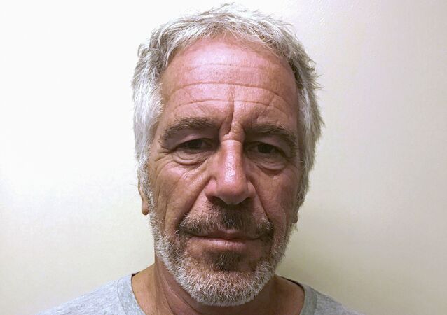 US financier Jeffrey Epstein appears in a photograph taken for the New York State Division of Criminal Justice Services' sex offender registry 28 March 2017 and obtained by Reuters 10 July 2019.