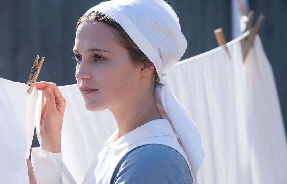 Testament of Youth (2014). Alicia Vikander plays the part of Vera Brittain - a renowned English nurse, writer, feminist, socialist and pacifist.