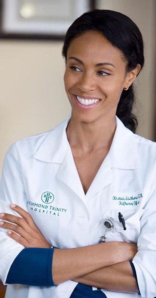 Hawthorne (2009 - 2011). Jada Pinkett Smith plays the character of Christina Hawthorne, chief nursing officer at Richmond Trinity Hospital in the popular TV series.