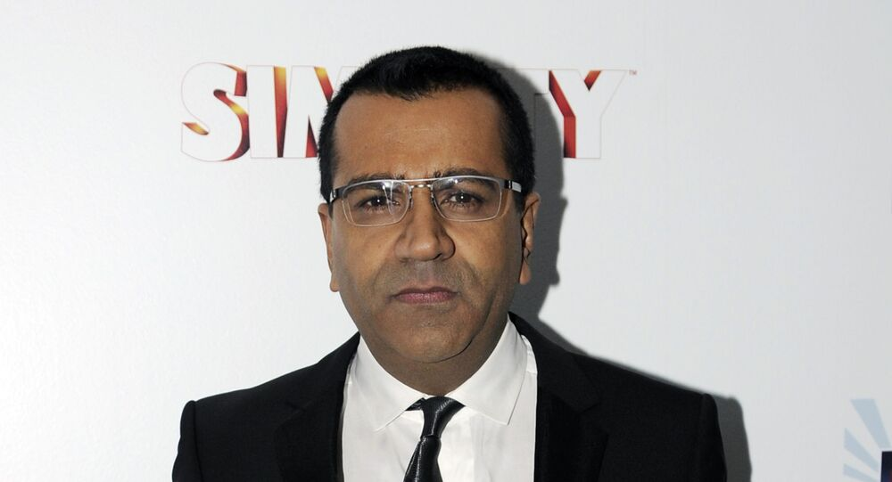 This Jan. 22, 2013 file photo shows Martin Bashir at the EA SimCity Learn. Build. Create. Inauguration After-Party, in Washington.