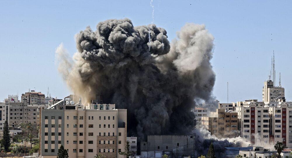 Live Updates: Israel Strikes Building Housing AP, Al Jazeera Among Other  Int'l Media Outlets in Gaza - Sputnik International