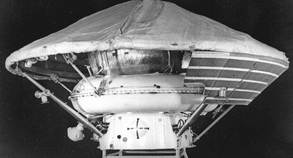 USSR's Mars-3 lander. File photo.
