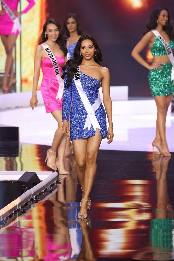 Miss Universe Japan Aisha Harumi Tochigi.