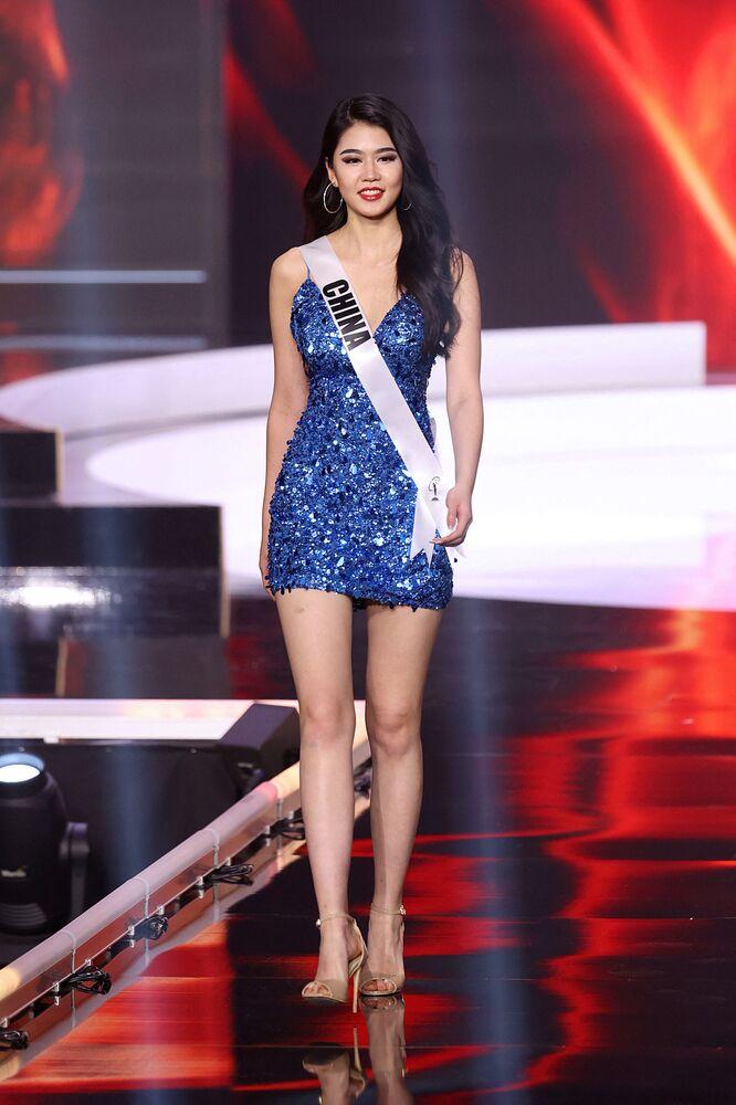 Miss Universe China Jiaxin Sun.
