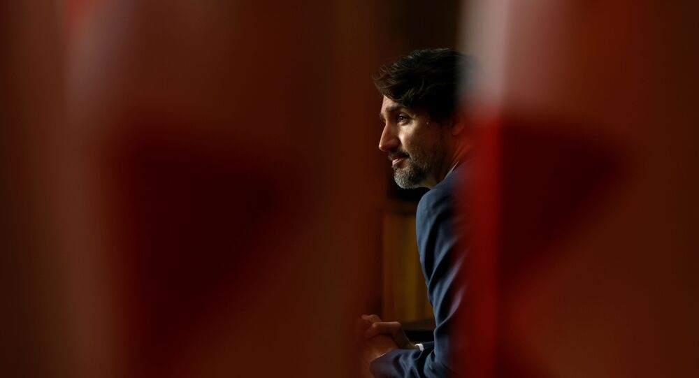 Canada's Prime Minister Justin Trudeau attends a news conference, as efforts continue to help slow the spread of the coronavirus disease (COVID-19), in Ottawa, Ontario, Canada May 18, 2021