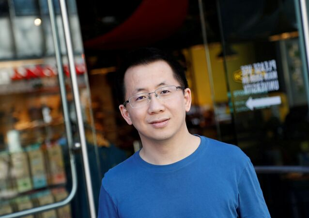 Zhang Yiming, founder and global CEO of ByteDance, poses in Palo Alto, California, U.S., March 4, 2020. Picture taken March 4, 2020