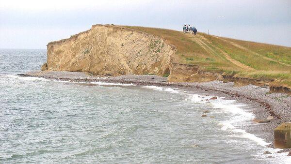 The cliff Gulstav Klint located near Dovns Klint at the southern end of the Danish island Langeland - Sputnik International