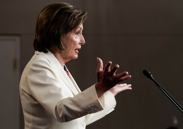 U.S. House Speaker Nancy Pelosi (D-CA) gestures, as she holds her weekly news conference with Capitol Hill reporters in Washington, D.C., U.S. May 20, 2021.