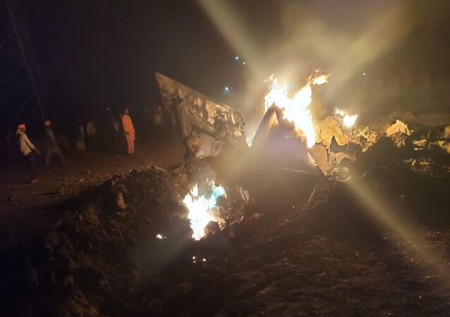 MiG-21 fighter jet of the Indian Air Force crashed at village Langeana in Baghapurana sub-division of Moga, Punjab.