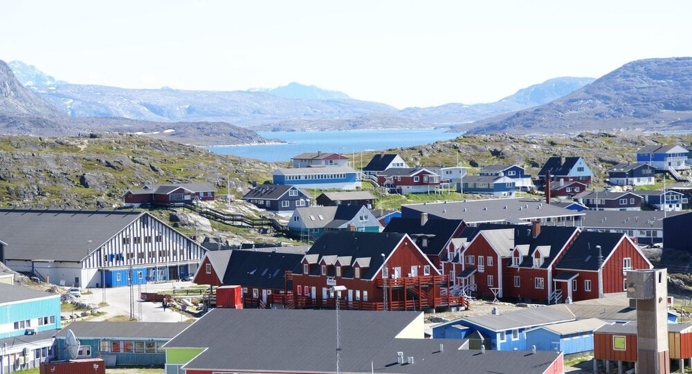 A beautiful view in Nuuk