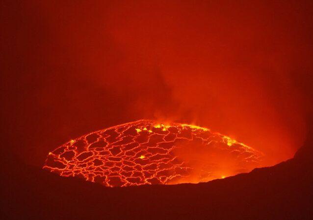 Nyiragongo eruption in Democratic Republic of Congo