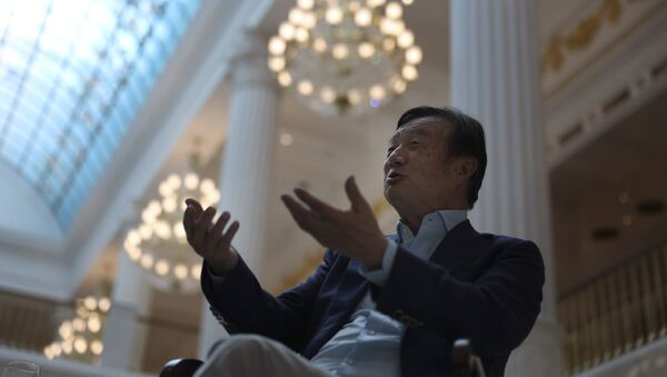Huawei's founder Ren Zhengfei, speaks during an interview at the Huawei campus in Shenzhen in Southern China's Guangdong province on Tuesday, Aug. 20, 2019. - Sputnik International