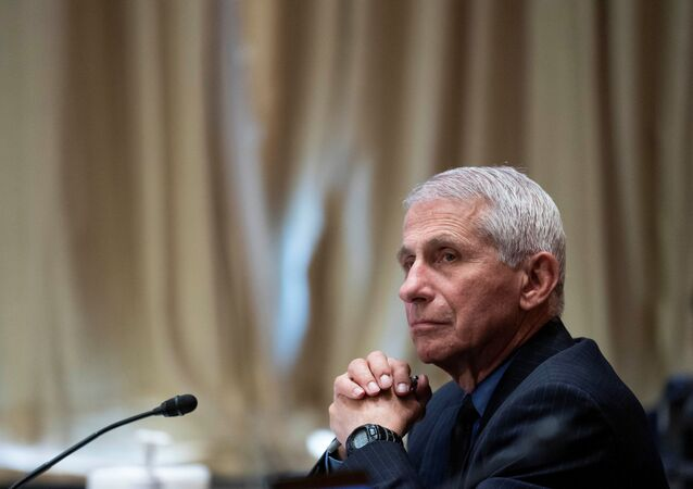 Dr. Anthony Fauci, director of the National Institute of Allergy and Infectious Diseases, listens during a Senate Appropriations Labor, Health and Human Services Subcommittee hearing looking into the budget estimates for National Institute of Health (NIH) and state of medical research on Capitol Hill in Washington, U.S., May 26, 2021.