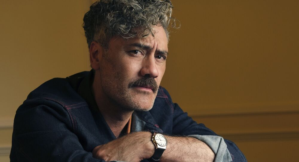 This 8 September 2019 photo shows writer-director-actor Taika Waititi posing for a portrait to promote his film, Jojo Rabbit, at the Fairmont Royal York Hotel during the Toronto International Film Festival in Toronto.