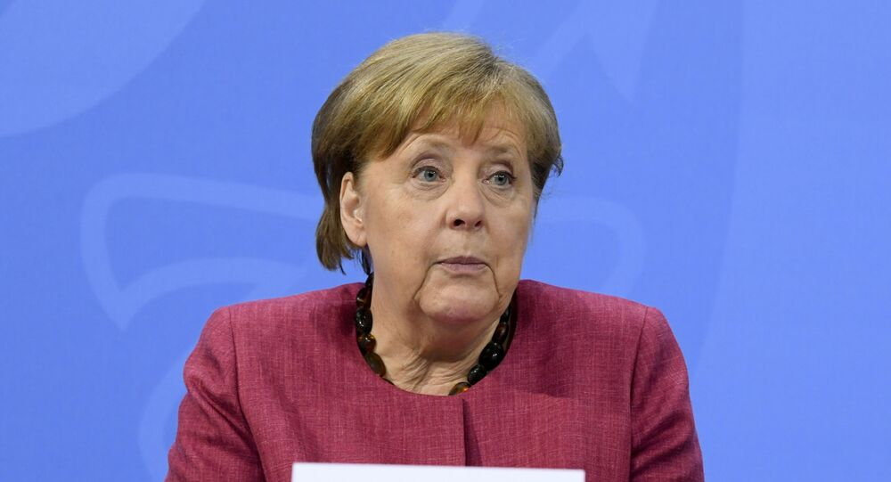 German Chancellor Angela Merkel attends a news conference at the Chancellery in Berlin, Germany May 27, 2021.