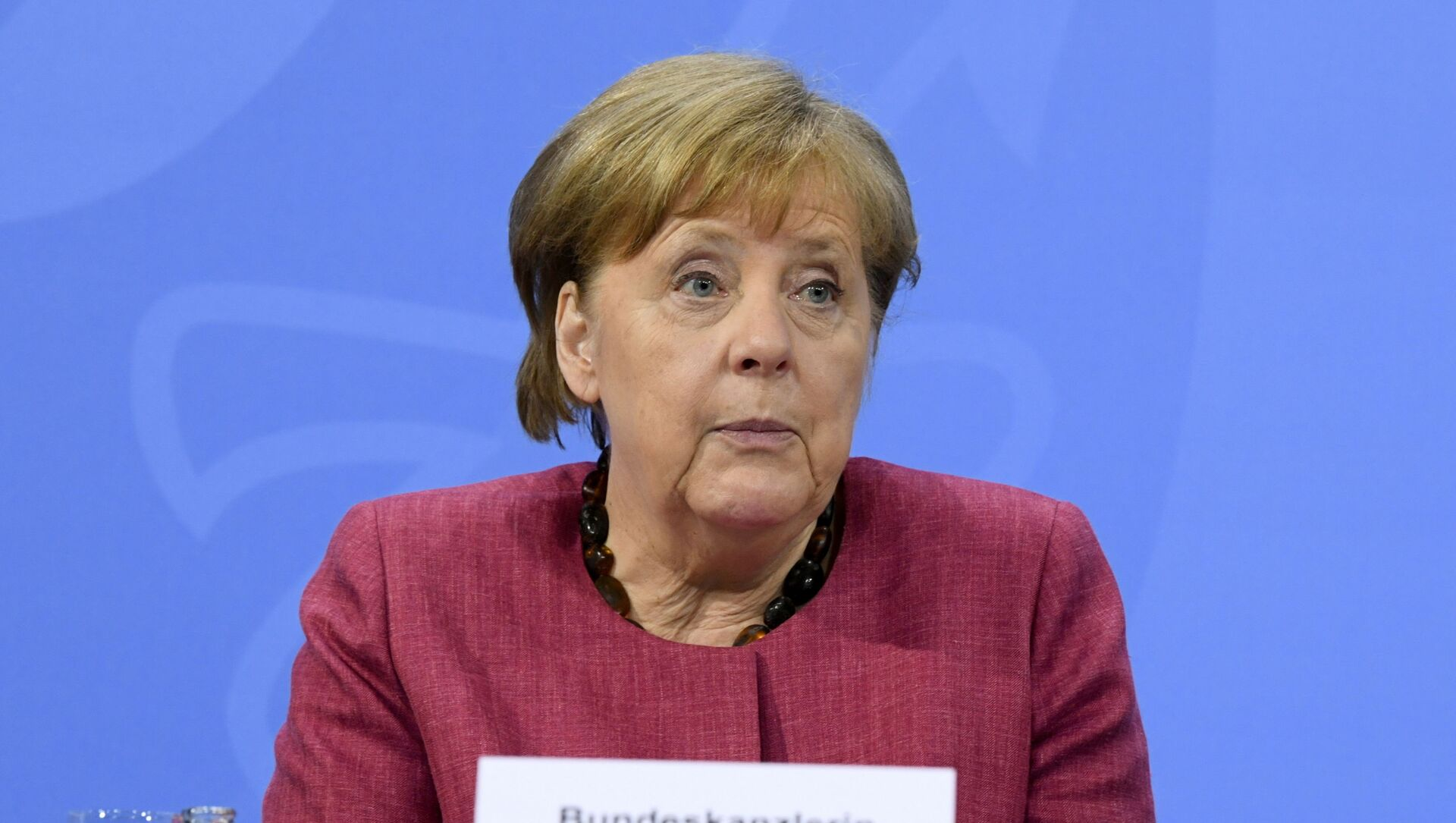 German Chancellor Angela Merkel attends a news conference at the Chancellery in Berlin, Germany May 27, 2021.  - Sputnik International, 1920, 23.06.2021