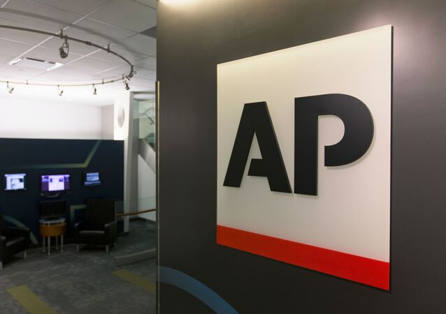 FILE - The Associated Press logo appears on April 26, 2016, in New York