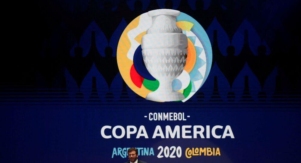FILE PHOTO: Soccer Football - Copa America Argentina-Colombia 2020 Draw - Centro de Convenciones, Cartagena, Colombia - December 3, 2019