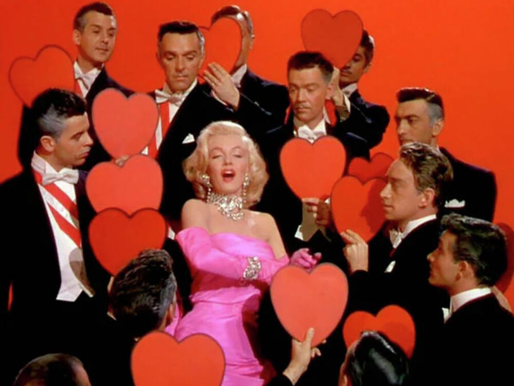 Monroe's performance in the 1953 film Gentlemen Prefer Blondes, which was one of the classic musicals of the 1950's, still feels breathtaking.