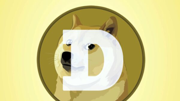 This mobile phone app screen shot shows the logo for Dogecoin, in New York, Tuesday, April 20, 2021 - Sputnik International