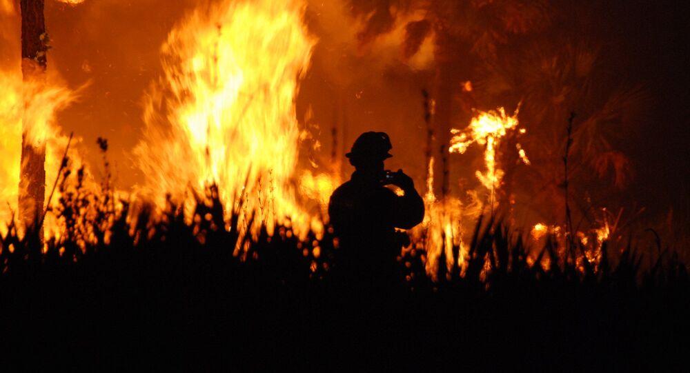 A firefighter