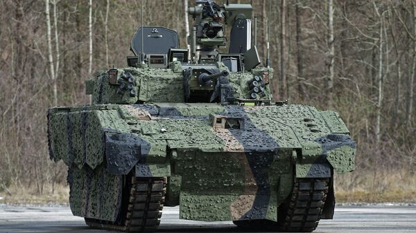 AJAX, the Future Armoured Fighting Vehicle for the British Army - Sputnik International