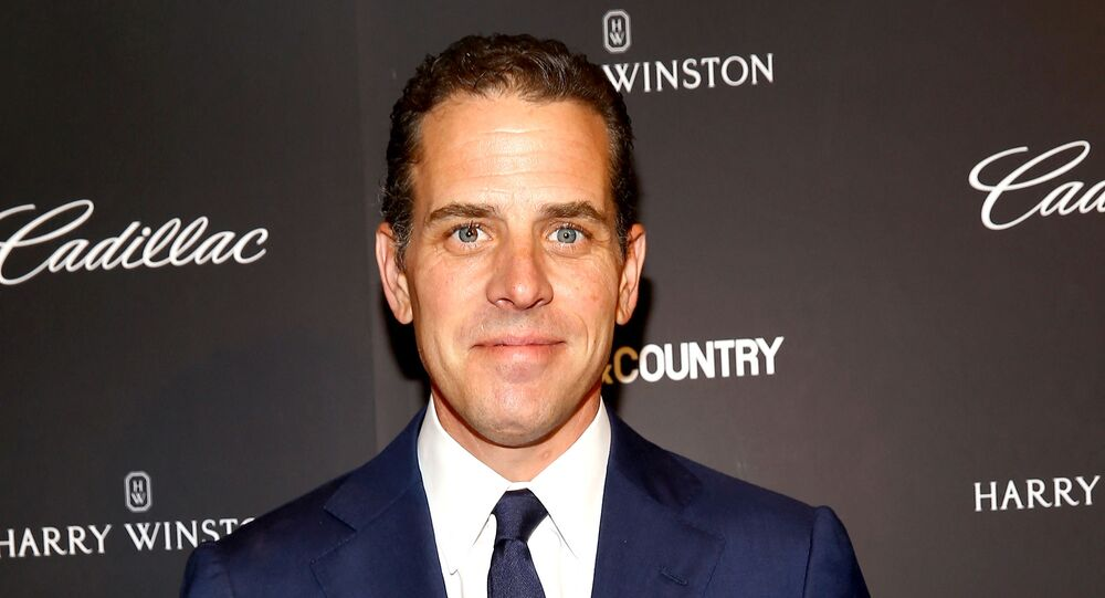NEW YORK, NY - MAY 28: Hunter Biden attends the T&C Philanthropy Summit with screening of Generosity Of Eye at Lincoln Center with Town & Country on May 28, 2014 in New York City.