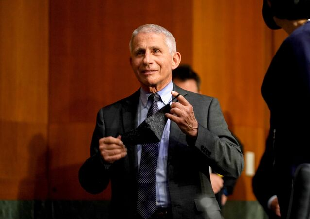 Dr. Anthony Fauci, director of the National Institute of Allergy and Infectious Diseases, arrives for a Senate Health, Education, Labor and Pensions Committee hearing to discuss the on-going federal response to COVID-19, at the U.S. Capitol in Washington, D.C., U.S., May 11, 2021