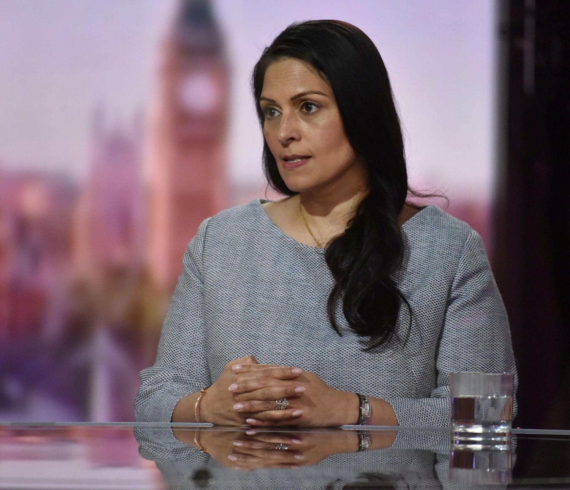 Britain's Home Secretary Priti Patel appears on BBC TV's The Andrew Marr Show in London, Britain May 23, 2021 - Sputnik International, 1920, 15.09.2021