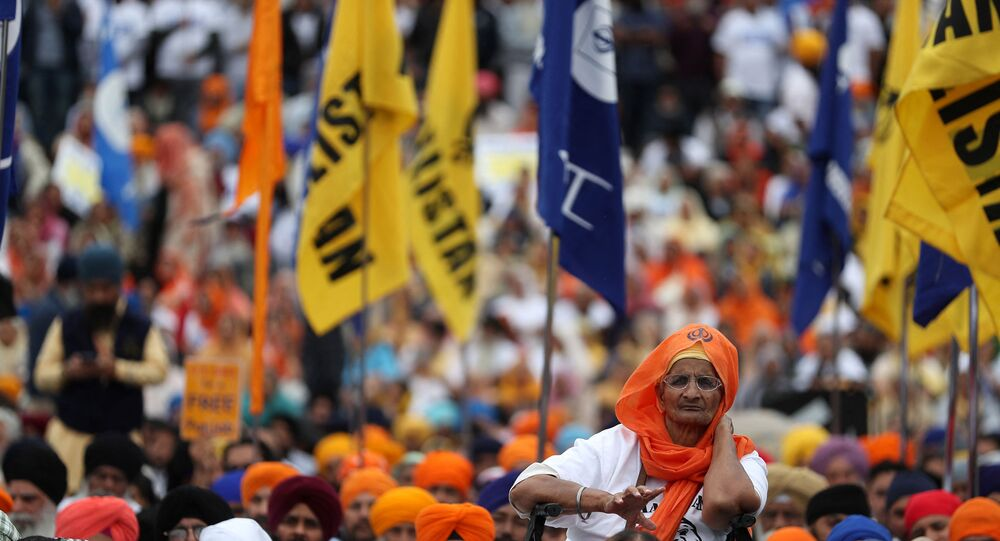 London's Sikh Community Takes to Streets in Commemoration of 1984 Golden Temple Massacre