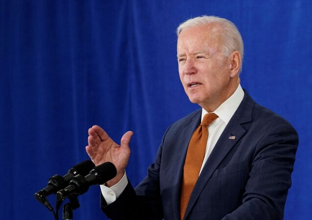 U.S. President Joe Biden delivers remarks on the May jobs report after U.S. employers boosted hiring amid the easing coronavirus disease (COVID-19) pandemic, at the Rehoboth Beach Convention Center in Rehoboth Beach, Delaware, US 4 June 2021