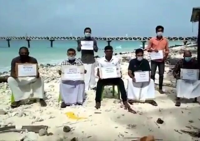 People of #Lakshadweep are protesting against administrator Praful Patel and the controversial new draft rules for the island