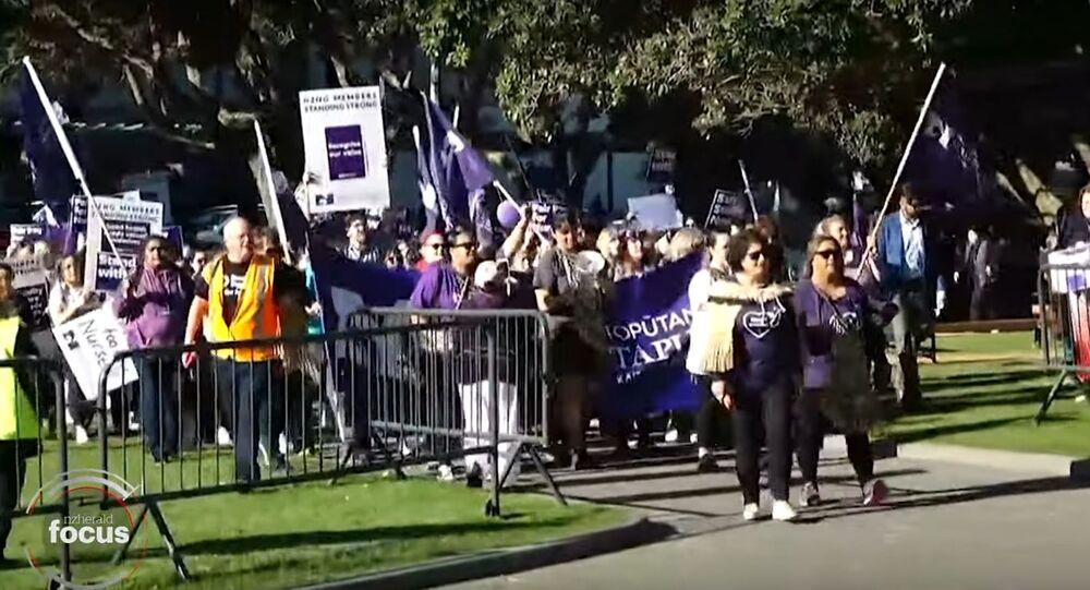 DHBs reduce services as nurses strike today