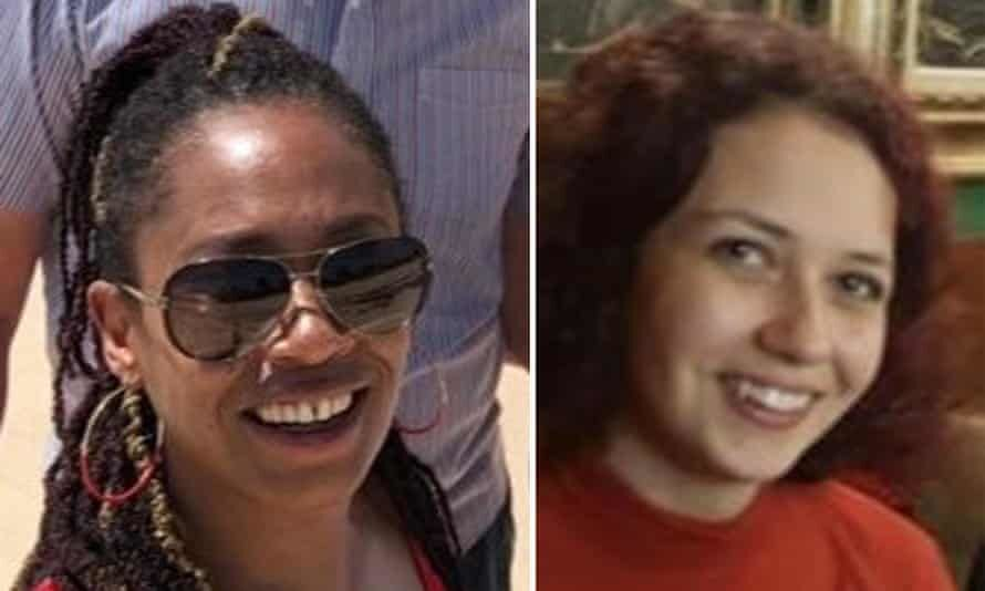 Nicole Smallman (right) and her sister Bibaa Henry (left) were murdered in a park in north west London in June 2020