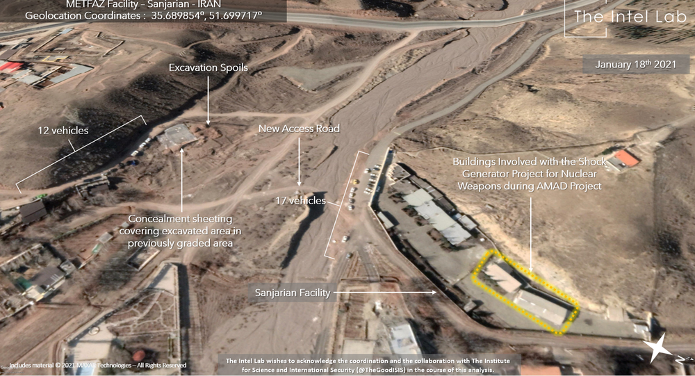 The Intel Lab analysis of alleged Iranian nuclear site.