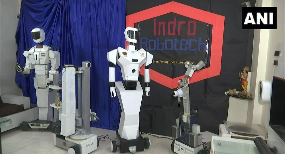 Techie Santosh Hulawale claims he has created three robots that'll help in treatment of patients during COVID pandemic